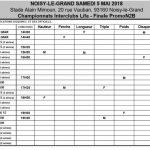 Interclubs samedi 05 mai 2018